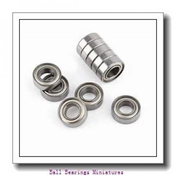 4mm x 10mm x 4mm  ZEN smr104-2z-zen Ball Bearings Miniatures
