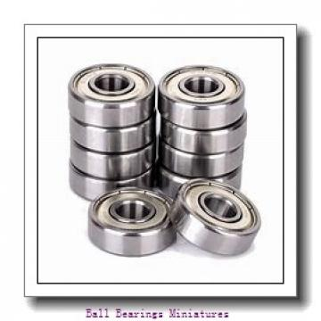 4mm x 10mm x 4mm  ZEN mr104-2ts-zen Ball Bearings Miniatures