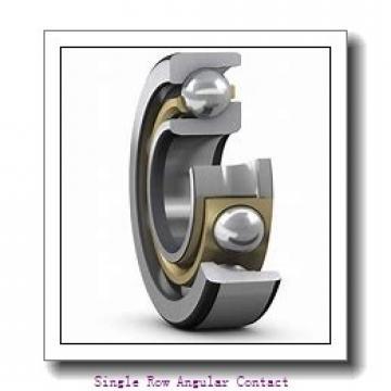 4 Inch x 7.25 Inch x 1.25 Inch  R%26M ljt4-r&m Single Row Angular Contact