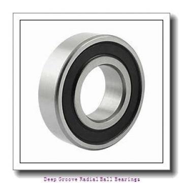 12mm x 28mm x 8mm  KOYO 6001-2rs-koyo Deep Groove | Radial Ball Bearings