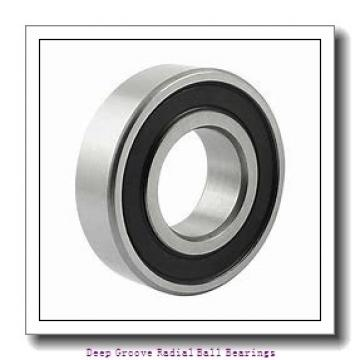 12mm x 28mm x 8mm  NSK 6001ddunr-nsk Deep Groove | Radial Ball Bearings